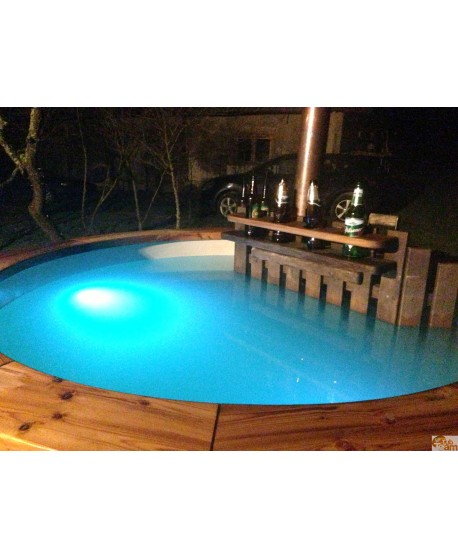 LED Beleuchtung im hot tub