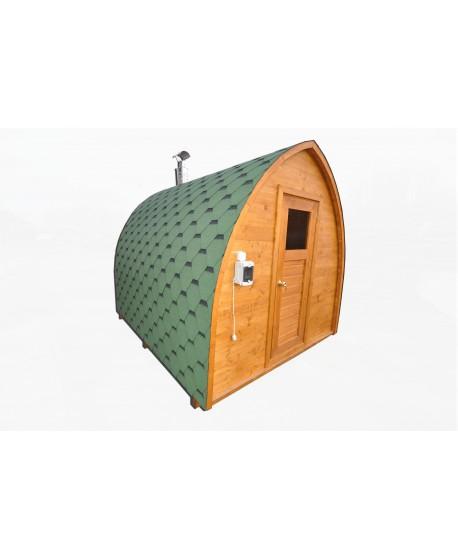 au ensauna f r garten iglu saunen saunas. Black Bedroom Furniture Sets. Home Design Ideas