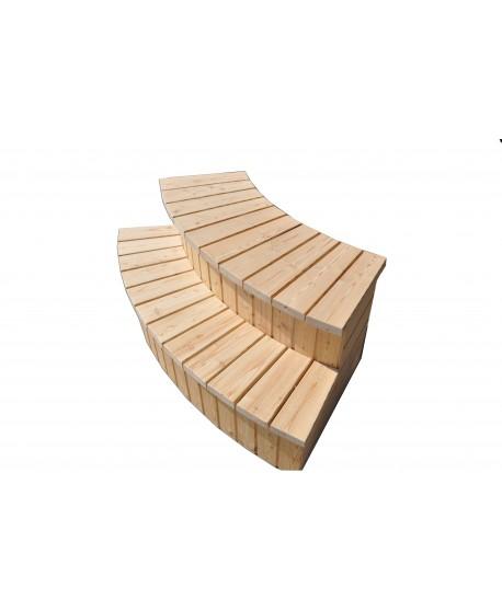 Treppe für Badezuber Typ A