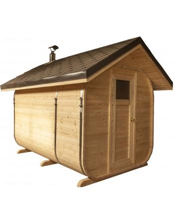 Sauna Giebeldach