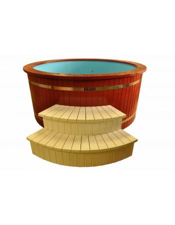 Badewanne Gemalte aus Fichte 2.2 m