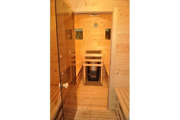 Sauna Fassform