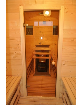 Statinės formos Sauna