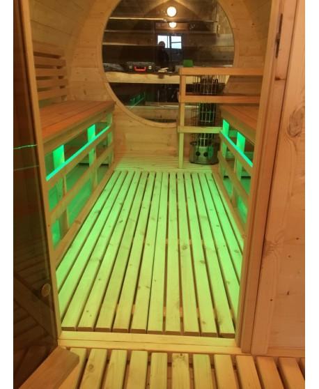 Holzerne sauna