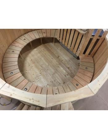 Holzbadebottich aus Lärche