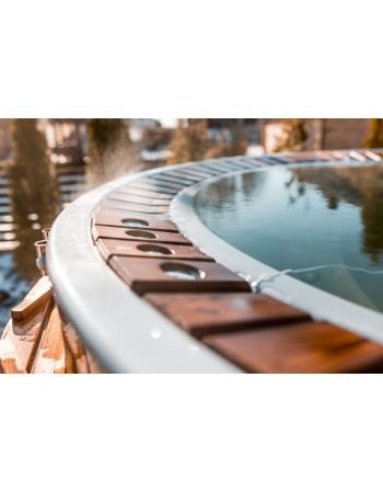Badezuber mit Überlaufsystem