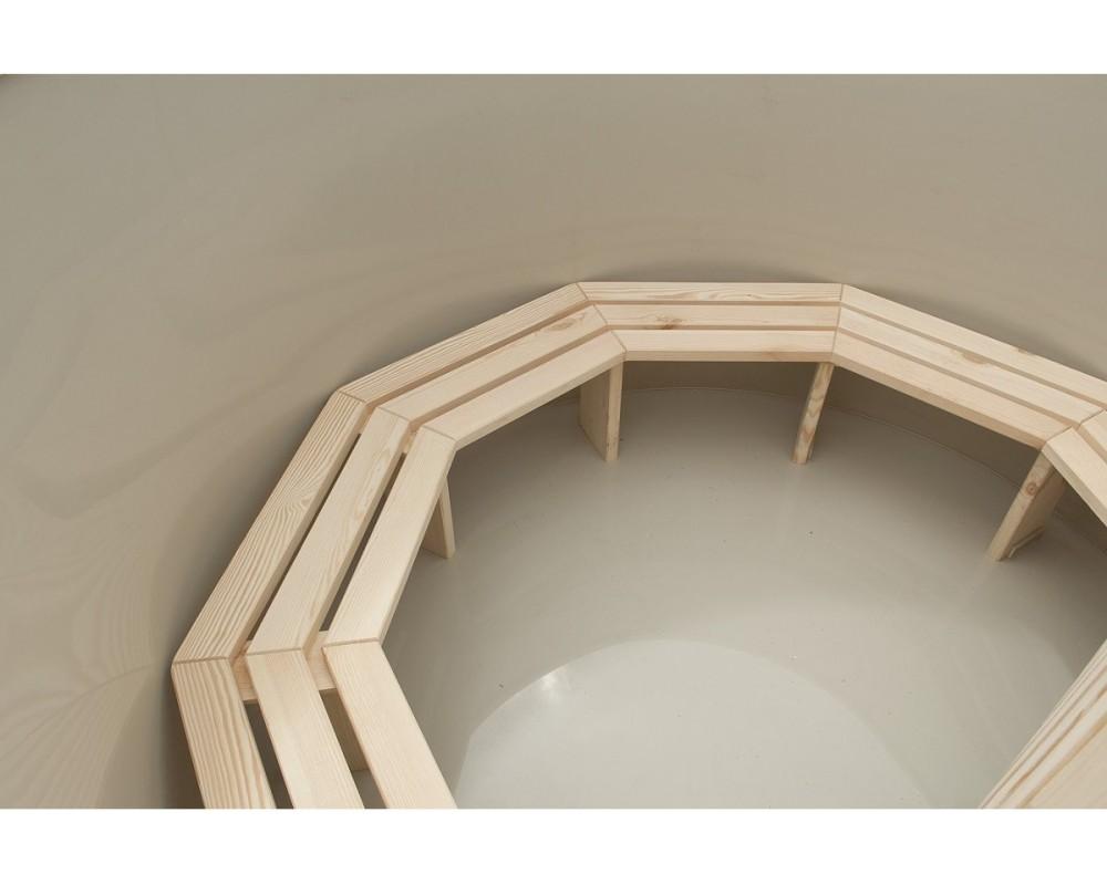 Sitzbänke von Badezuber Typ A