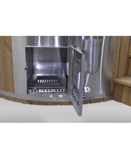 Integriertem Ofen Badezuber