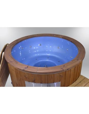 Exklusive Badefass GFK blaue Farbe 182cm