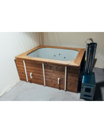 Badewanne - Terrasse Einbaumodell