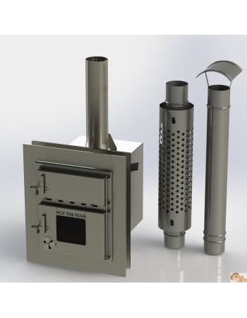 Integrierter Ofen für Badetonne aus Kunststoff KKI Np-01