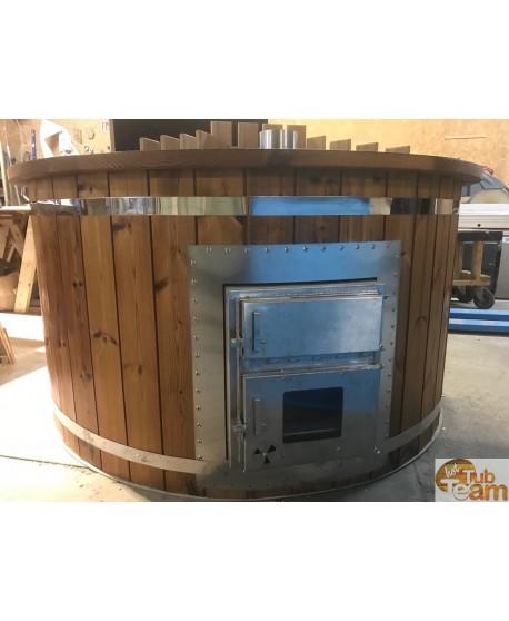 Integrierter Ofen für Badebottich aus Kunststoff KKI Np-01