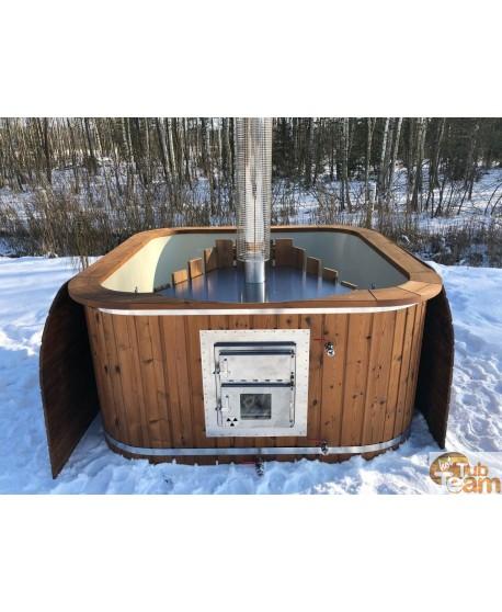 Integrierter Ofen für Badewanne aus Kunststoff KKI Np-01