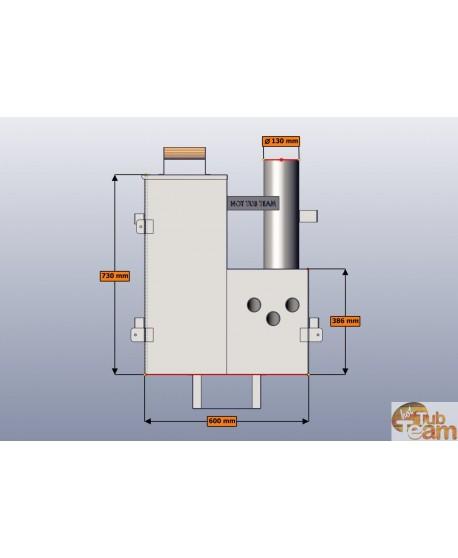 Innerer Ofen für Badezuber KL Np-59