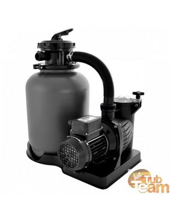 Wasserfiltrationssystem für Badetonne