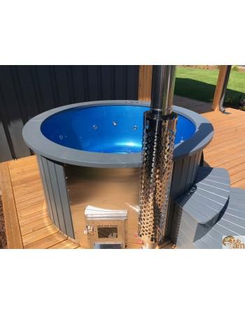 Der Whirlpool verfügt über einen Hitzeschutz