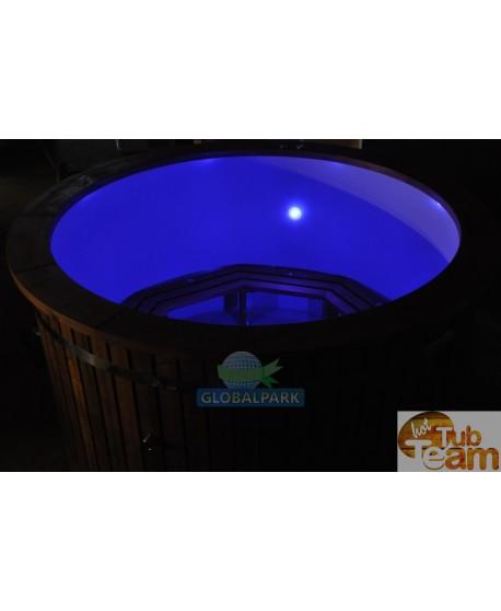 LED Beleuchtung im Badebottich