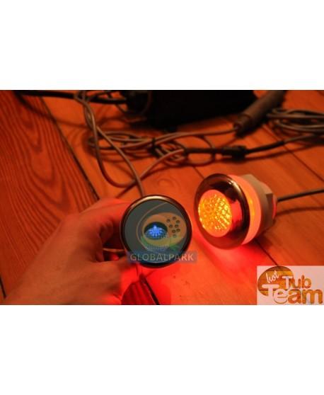LED Beleuchtung im Badetonne