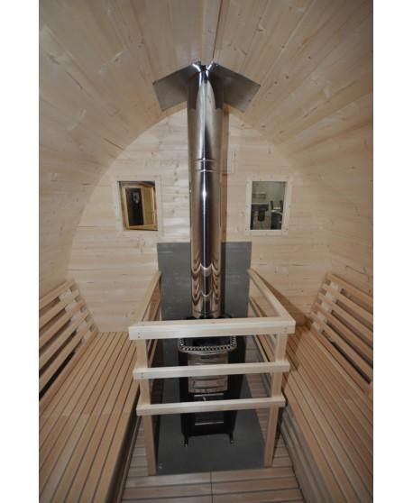 Heizung von Sauna