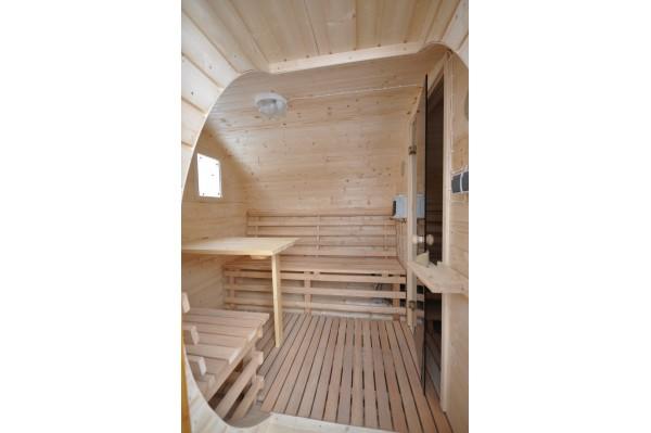 Fass-Sauna